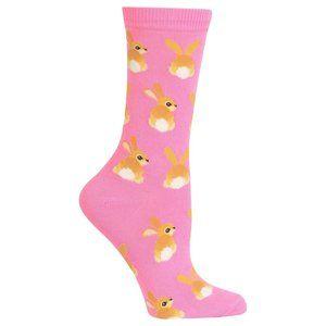 🐣 Set of 2 - Hot Sox Bunny and Bees Socks